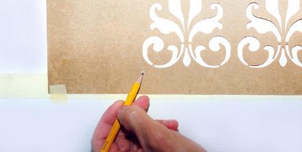 Stencil fratelli gregorio manerbio brescia italy for Greche adesive da muro